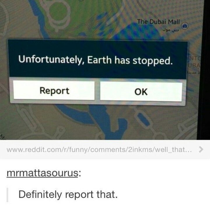 The time Google Earth just said Earth.
