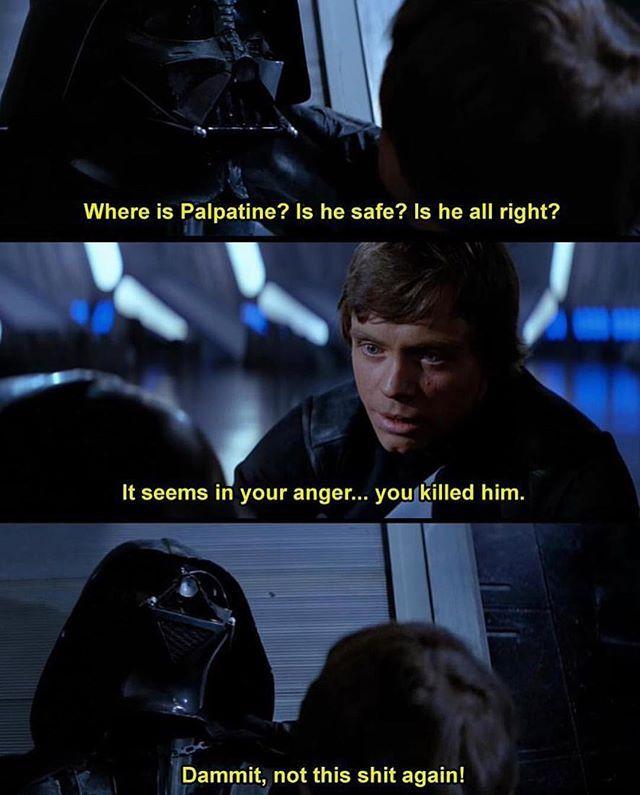 Well Done From The Great Prequel M3m3s Starwars Clonewars Star Wars Humor Star Wars Jokes Funny Star Wars Memes