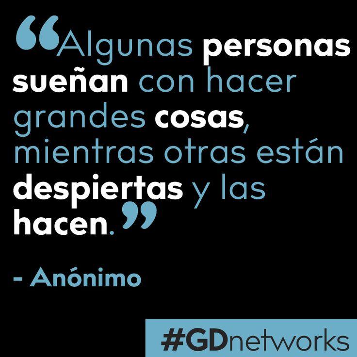 Nueva semana, nuevas oportunidades. Convirtiendo sueños en realidad.   #tipsGDnetworks #deColombiaparaelmundo #GDnetworks #GDInternational  http://www.gdnetworks.co/ http://www.gdinternational.co/ Facebook: https://www.facebook.com/gdnetworks/ Instagram: https://www.instagram.com/gdnetworks/ Pinterest: https://www.pinterest.com/gdint/gd-networks/