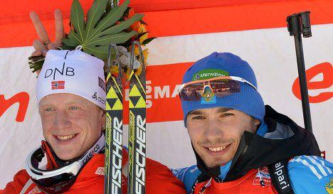 Johannes Boe and Anton Shipulin.