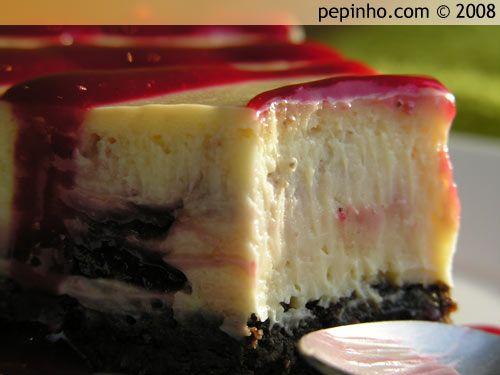 i-Recetas: Tarta de queso, chocolate blanco y frambuesa (al horno)