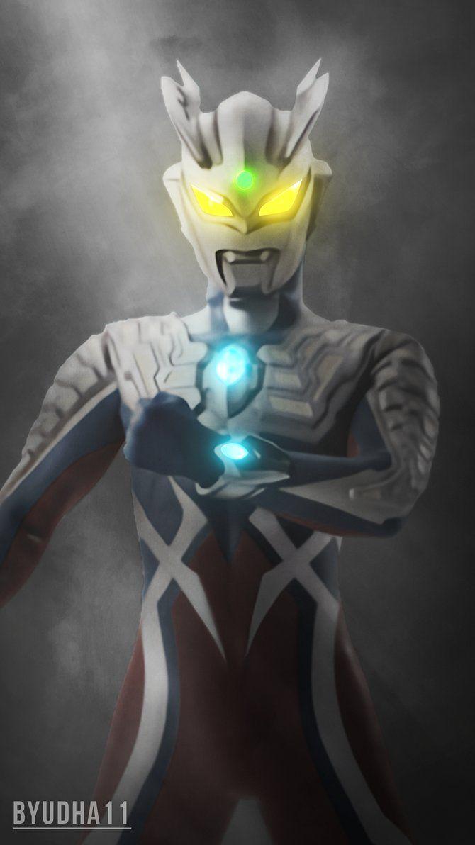 Ultraman Zero Wallpaper By Byudha11 Seni Gambar Animasi