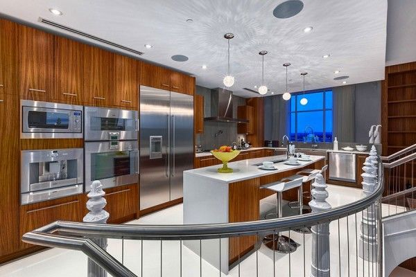 modern dinning room and kitchen from gypsum interior design for luxury and modern house 600x400 gypsum interior design for luxury and modern house