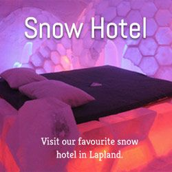 Snowhotel in Lapland