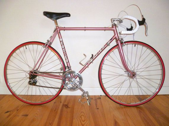 Vintage French Hand Built Pink Mercier Racing by FrenchPedalPower, £340.00