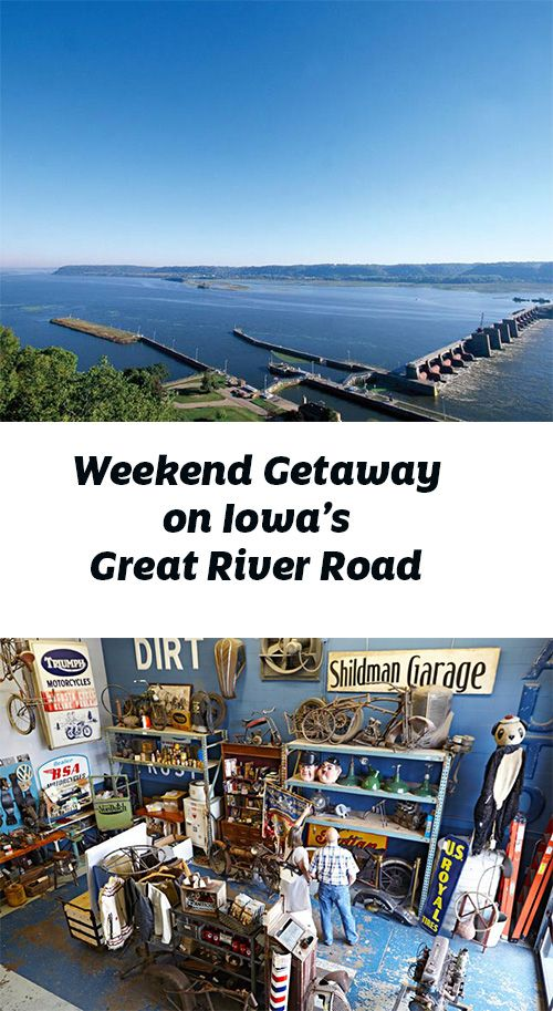 weekend getaway along iowa 39 s great river road weekend. Black Bedroom Furniture Sets. Home Design Ideas