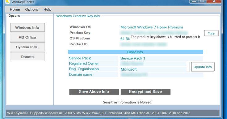 تحميل برنامج Winkeyfinder لمعرفة سريال اى اصدار ويندوز ضرورى جدا لتتمكن من الحصول على الخدمات والتحديثات بطريقة قانونية Ms Office Key Copy Microsoft Windows