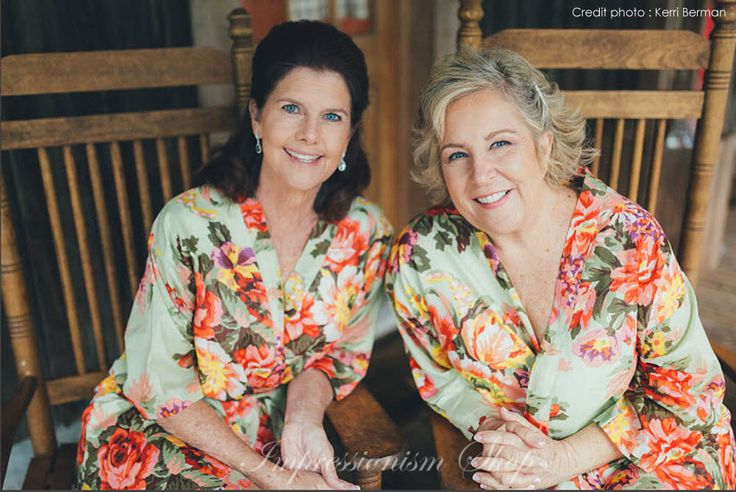 Set of 2, Mother of the groom, Mother of the bride robe, Maid of honor, Bride Kimono Robes, Bridesmaids robes, Bridesmaid gift robe, by Impressionismshop on Etsy https://www.etsy.com/nz/listing/252921150/set-of-2-mother-of-the-groom-mother-of