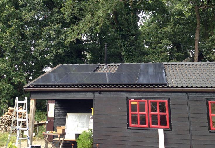 Zonnepanelen met Enphase micro-omvormers Diepenveen