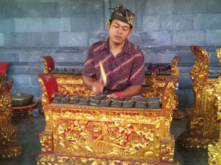 Balinese music teacher