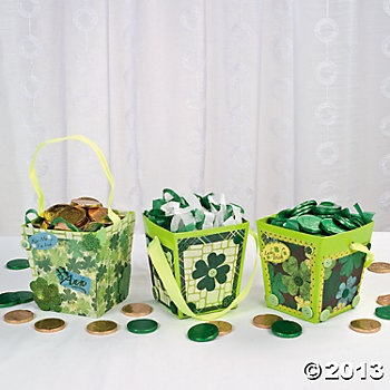 St. Patrick's Day Buckets