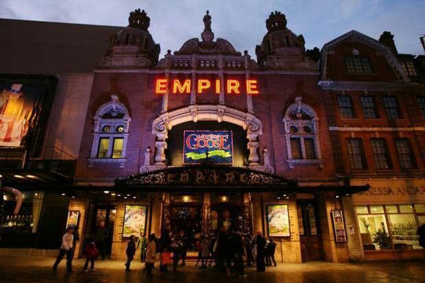 The Hackney Empire.