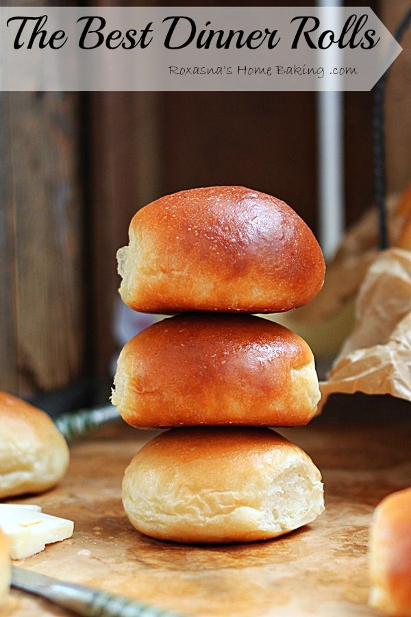 Soft, buttery, tender and warm, straight out of the oven – these are the best dinner rolls! Once you try this dinner rolls recipe you'll never want to go back to store bough dinner rolls!
