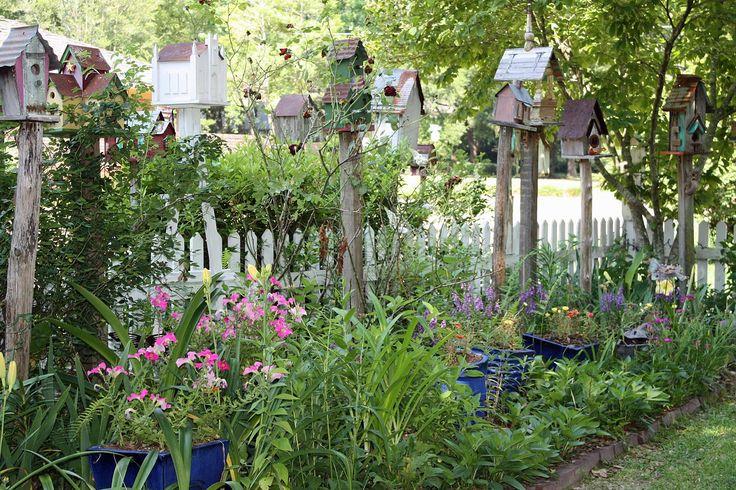 """Southern Lagniappe A """"Birdhouse Garden"""" Gardens 2"""