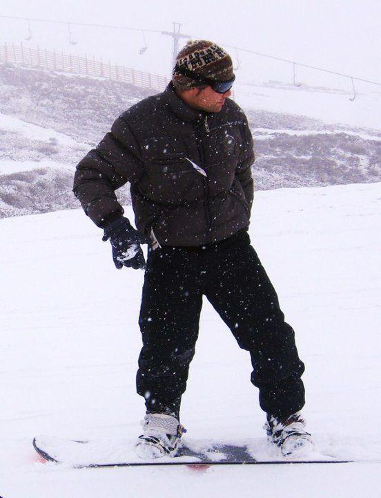 Snowboard, El Colorado, Santiago, Chile.