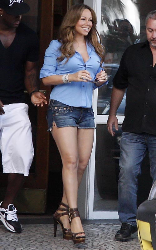 Mariah Carey's Shorts <3 - www.more4design.pl – www.mymarilynmonroe.blog.pl – www.iwantmore.pl