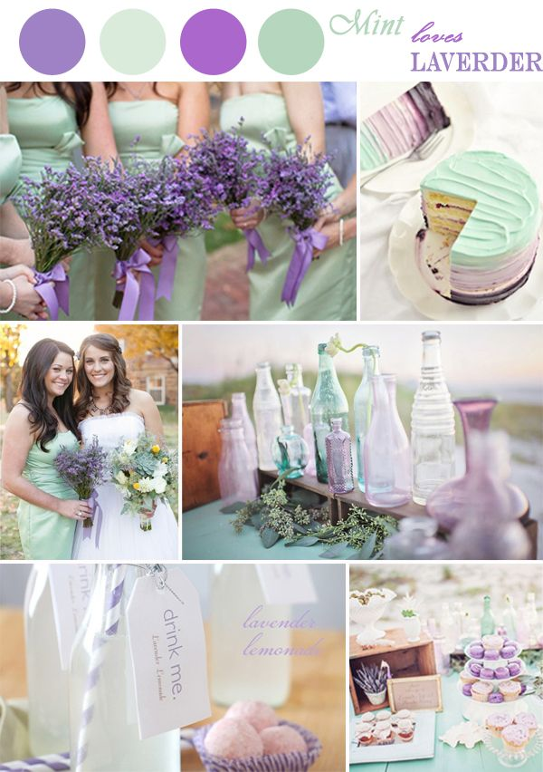 How about gray instead of mint and various shades of purple? why'd I bother pinning this one...
