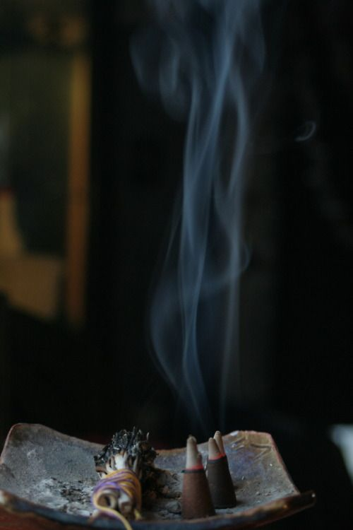 Clearing & Cleansing http://www.nomad-chic.com/the-accidental-incense-lover.html