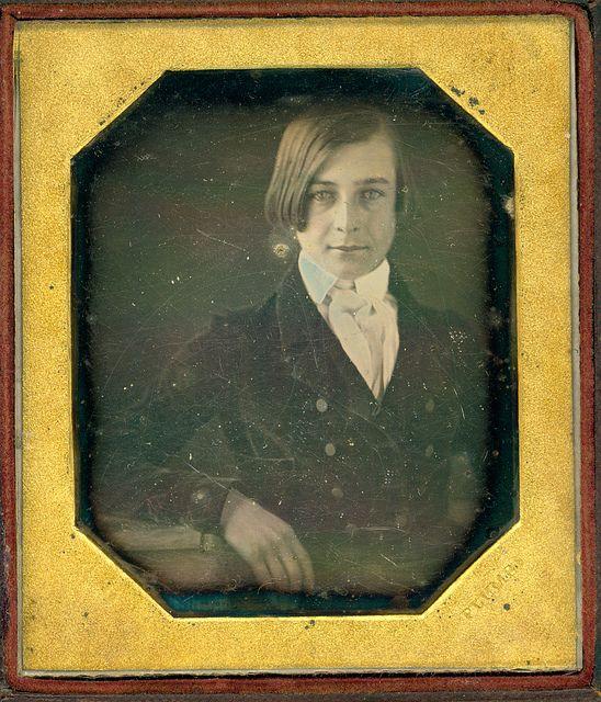 None more dapper. Daguerreotype. Ca. 1840.