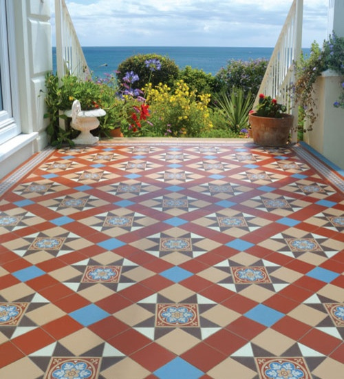 Luxury Design Design - Spanish tiles: Floors, Color, Spanish Tile, Victorian Tile, House