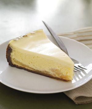 Gingersnap-Pear Cheesecake