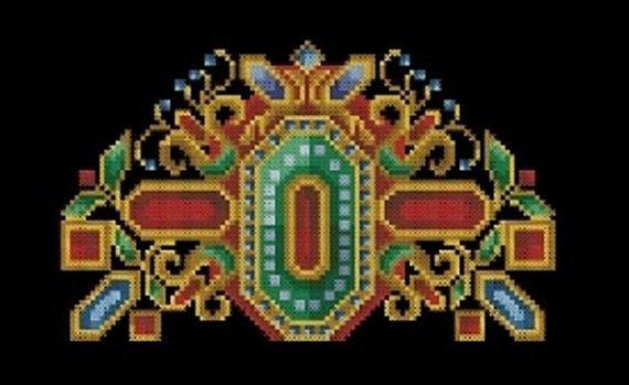 Cross Stitch Antique Tapestry Multicolored Design от MagicOfNeedle