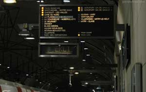 RER Train from Paris to Roissy-Charles de Gaulle (CDG) Airport | Paris by Train