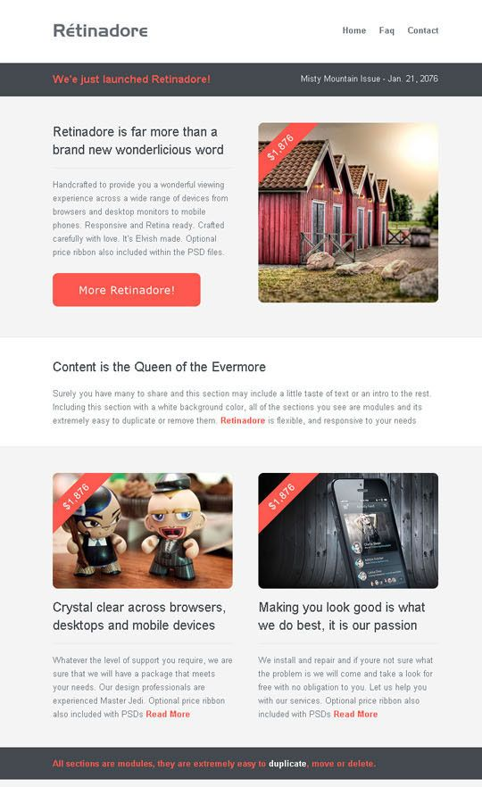 11 best Digital design images on Pinterest Email newsletters - example news letter