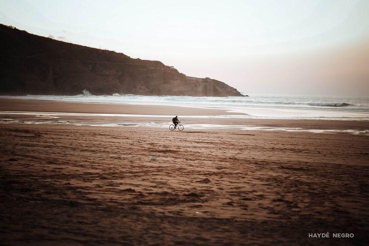 Paseo en bici por la playa #haydenegro www.haydenegro.com
