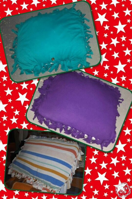 Fundas para   almohadas de remeras recicladas!!!❤