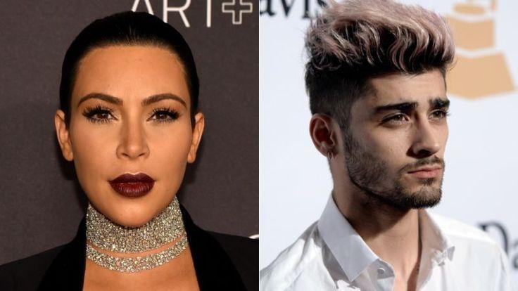 Zayn Malik Was Not Shading Kim Kardashian, Ok?