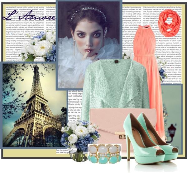 """hijab pastel inspiration"" by tatharosita on Polyvore"