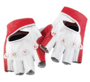 Cute cycling gloves.