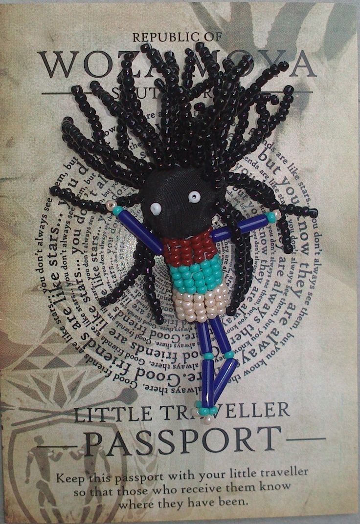 "Rasta Little Traveller – ""Lucky"" - Lucky was designed by Joyce who was inspired by a great South African Rasta musician Lucky, Lucky celebrates music and peace long may the legend continue."