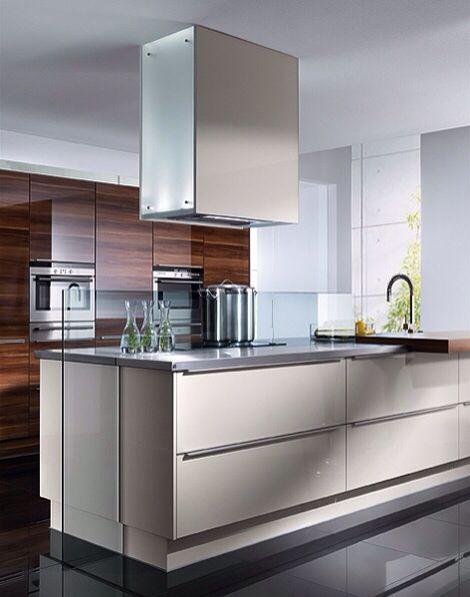 Very sleek modern kitchen