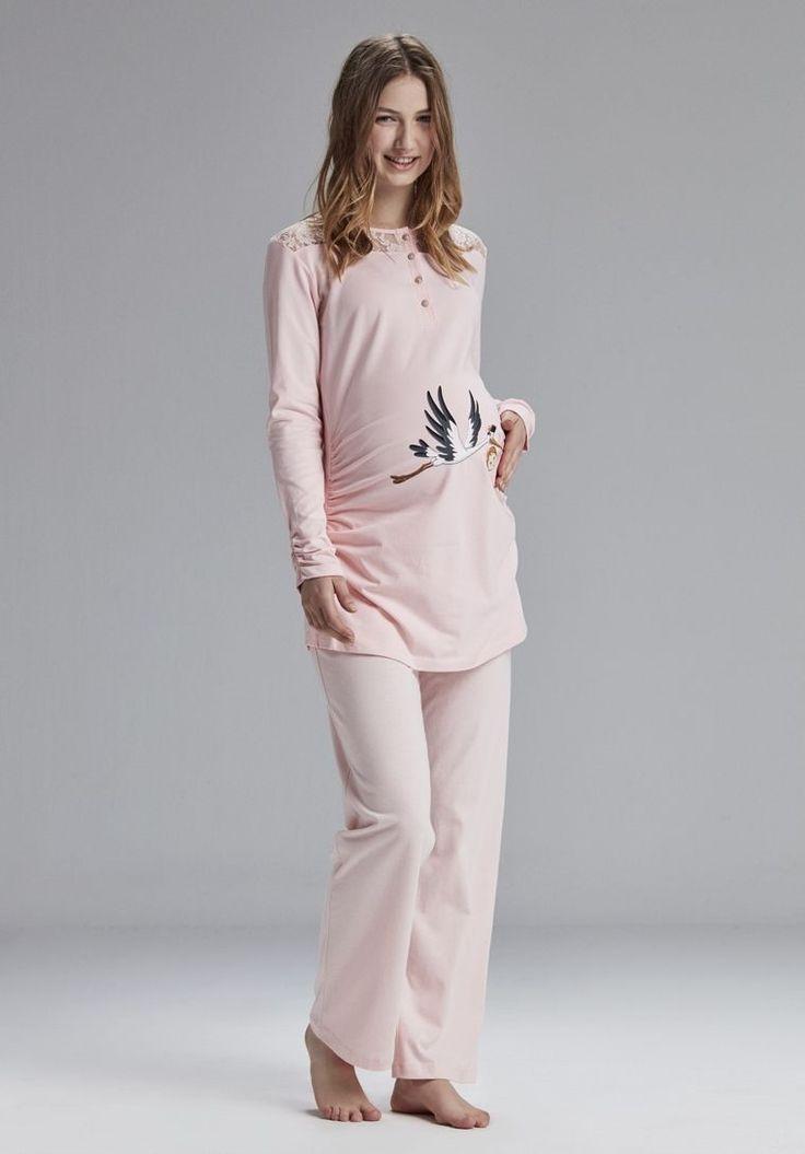 Catherine's 809 Hamile ve Lohusa Pijama Takım #HamilePijama #HamileGecelik #LohusaPijama #LohusaGecelik #Hastahaneçıkışı #DoğumÇantası #Lohusa