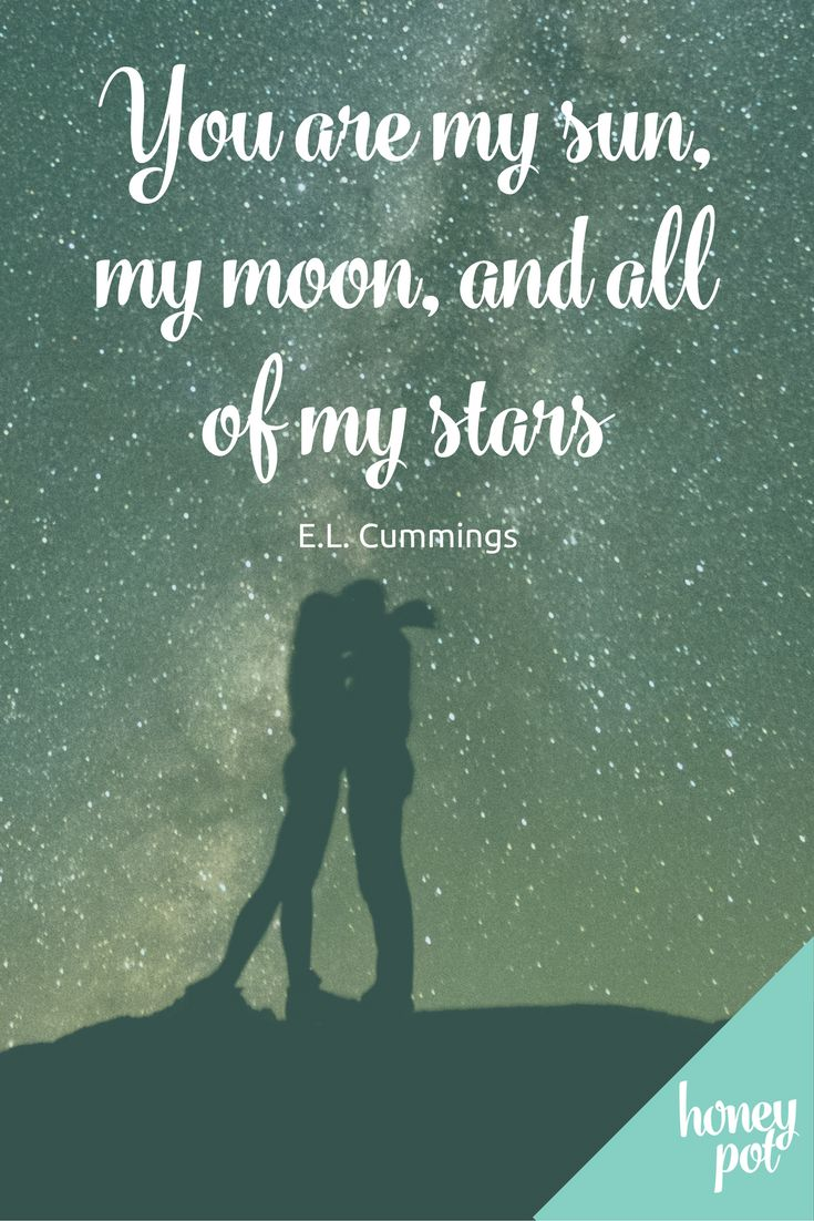 Such a gorgeous love quote from EL Cummings - perfect for a sign at the wedding perhaps?