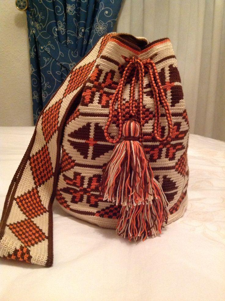 Mi tercera mochila terminada!