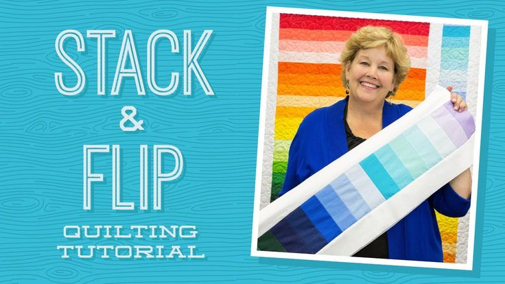 Click here for supplies: http://bit.ly/StackandFlip_YT Jenny demonstrates how to make a quick project with 2.5 inch strips of precut fabric (jelly rolls). Sh...