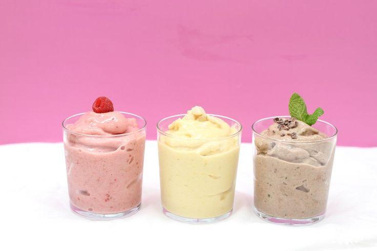 nice cream recipes, healthy dessert recipes, banana ice cream, frozen desserts
