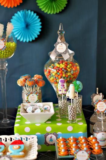 Hostess with the Mostess® - Outer Space 5th Birthday Party