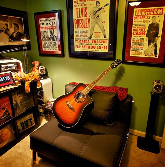 cool music room