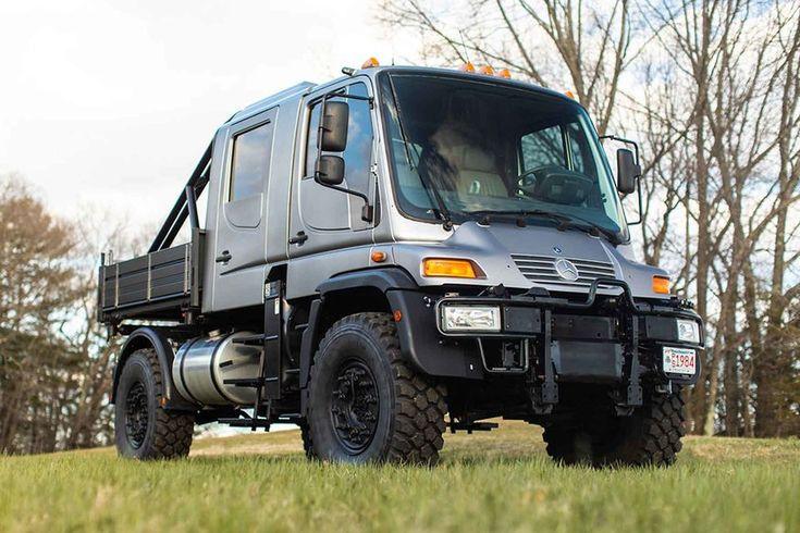 2004 Mercedes-Benz Unimog U500 Truck in 2020 | Unimog ...