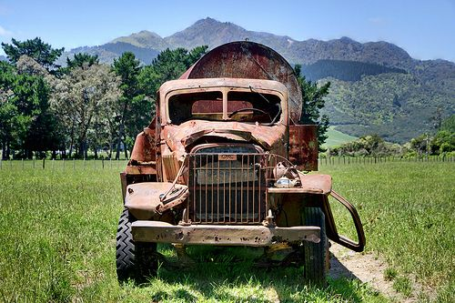 New Trucks For Sale >> Old GMC CCKW US Army Truck from World War II, Waikato, New Zealand | WW2 Allied Vehicles ...