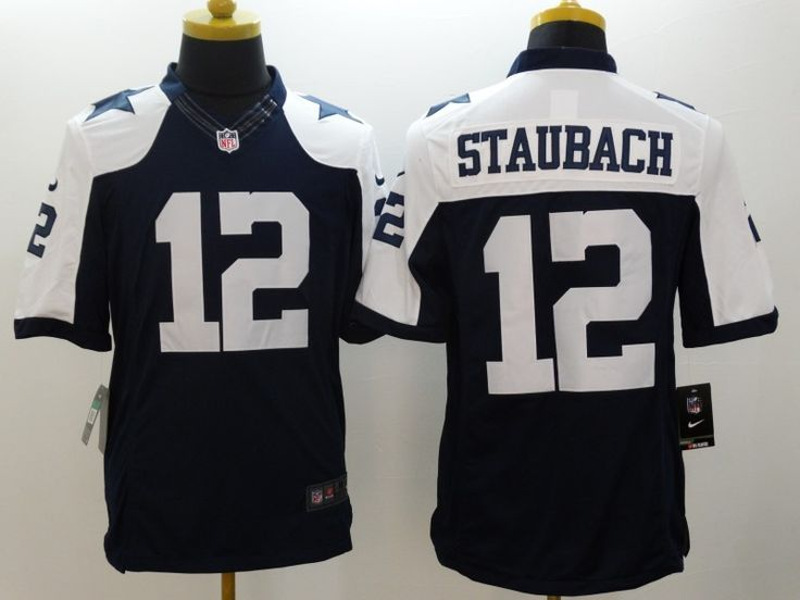 82366c049f1 ... Jersey Dallas Cowboys 12 Roger Staubach Limited Navy Blue Mens ...