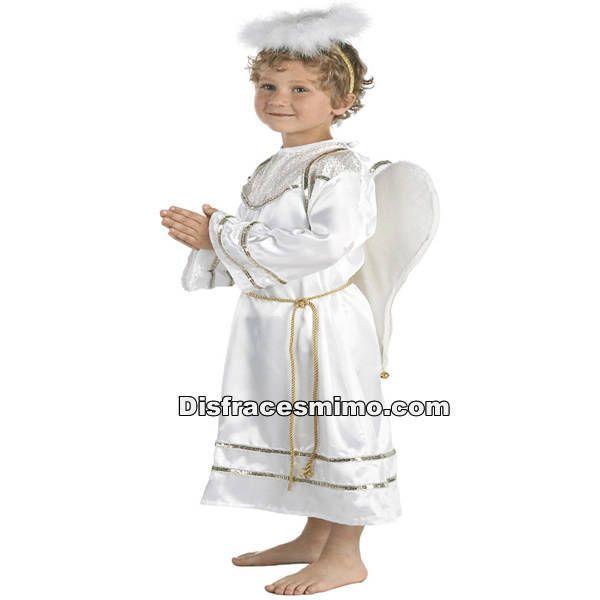 Tu mejor disfraz de angel para infantiles 10 a 12 años.Este celestial disfraz de Ángel para niños y niñas resulta perfecto para que los más pequeños representen a angelitos.Este disfraz es ideal para tus fiestas temáticas de disfraces de navidad para niños infantiles.