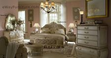 AICO Lavelle Blanc White Queen Tufted Bed Bedroom Set Online Bedroom Furniture