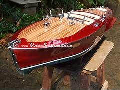 Chris Craft Triple Cockpit Wooden Speed Boat Model 007 lar… | Flickr
