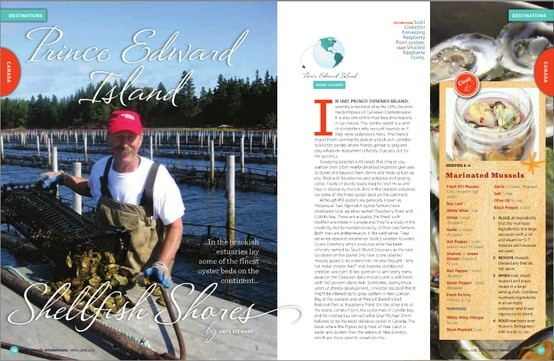 Looking for shellfish heaven? Welcome to Prince Edward Island!