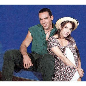 Power Rangers Tommy and Kimberly.  I thought they were the cutest couple ever!